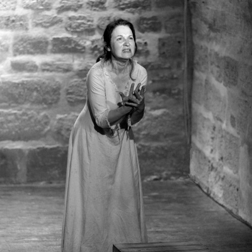 « The Last Day of a Condamned » Victor Hugo, interpreted by the actress Lucilla Sebastiani-Lombard