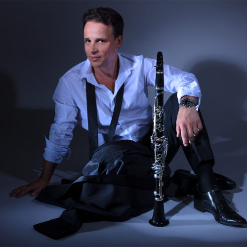 The magnificent and talented French clarinettist Jérome Comte